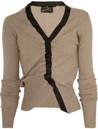 Vivienne Westwood Asymmetric cotton cardigan