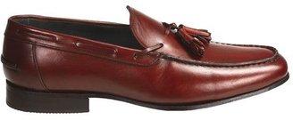 Eduardo G. Florence Tasseled Loafer Shoes - French Calf Leather (For Men)