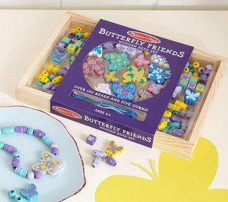 Pottery Barn Kids Butterfly Friends Wooden Bead Set