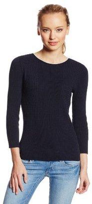 Jones New York Women's Three-Quarter-Sleeve Pullover Sweater