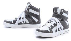 Balmain Pierre Austin High Top Sneakers