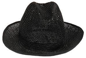 Maison Margiela Woven Black Hat