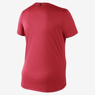 Nike Extended Size Short-Sleeve Miler Women's Running T-Shirt