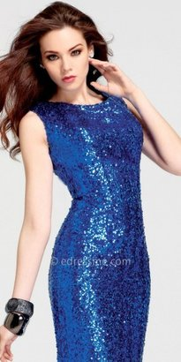 Faviana Celebrity Inspired Sequin Evening Dreses