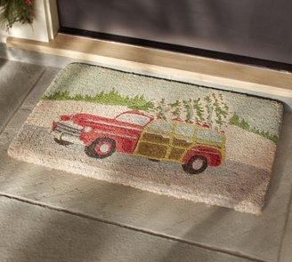 Pottery Barn Woody Car Door Mat