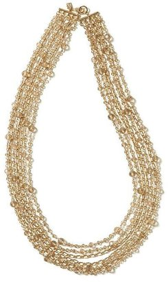 Banana Republic Crystal shower necklace