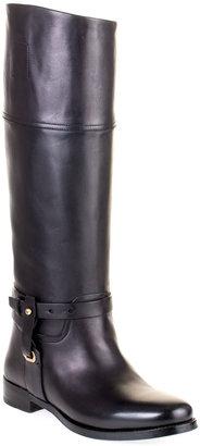 Ralph Lauren Seleste black leather boot