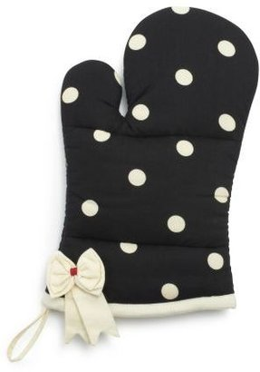 Sur La Table Dotty Bow Vintage-Inspired Oven Mitt