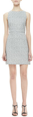Alice + Olivia Eli Sleeveless Textured Dress
