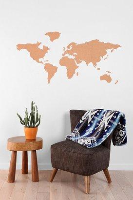 Urban Outfitters Atlas Cork Board Set
