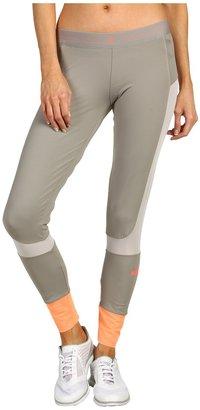 adidas by Stella McCartney Run Performance 7/8 Tight Z38625 (Grey Feather/Powder) - Apparel