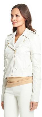 Diane von Furstenberg Theodora Leather Jacket