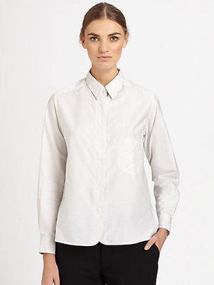 Christophe Lemaire Detachable Collar Shirt