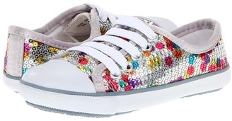Pampili Like 287 (Toddler/Little Kid) (Silver) - Footwear