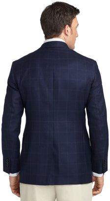 Brooks Brothers Fitzgerald Fit Windowpane Sport Coat