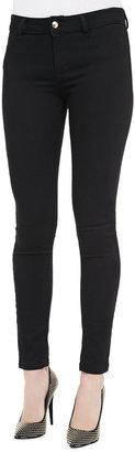 Just Cavalli Solid Skinny Jeans, Black