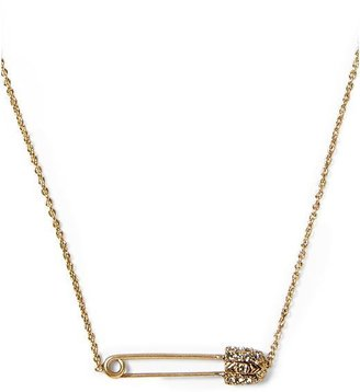 House Of Harlow Petite Safety Pin Necklace