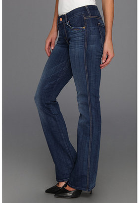 """7 For All Mankind Petite Lexie """"A"""" Pocket in Washed Medium Indigo"""