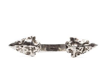 Pamela Love Double Mini Arrowhead Cuff in Antique Silver