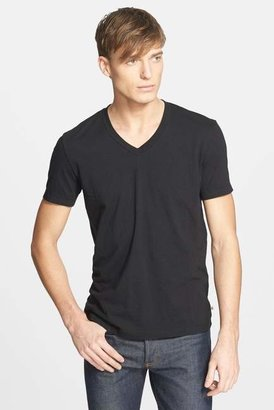James Perse Short Sleeve V-Neck Tee $60 thestylecure.com