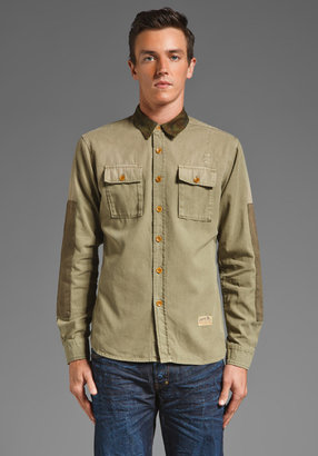 PRPS Goods & Co. Two Pocket Button Up Shirt