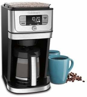 Cuisinart Burr Grind and Brew Stainless Steel Coffee Maker