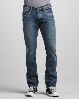 John Varvatos Slim Distressed Jeans