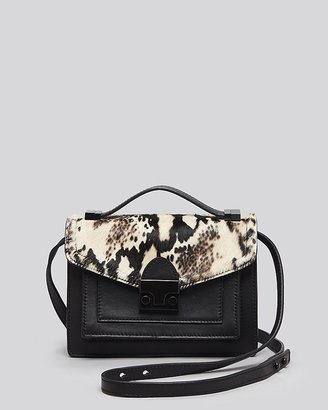 Loeffler Randall Crossbody - Haircalf/Nappa Mini Rider