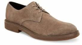 Calvin Klein Varick Suede Lace-Up Oxfords