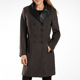 JCPenney Worthington® Colorblock Reefer Coat