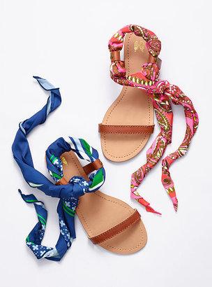 Victoria's Secret Collection Flat Scarf Sandal