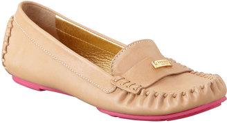 Kate Spade Weekend Rubber-Bottom Loafer, Natural/Pink