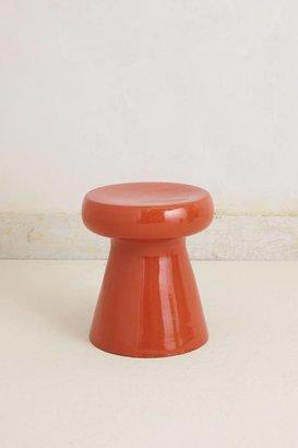 Anthropologie Mushroom Side Table