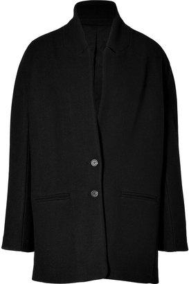 Vanessa Bruno Black Wool-Blend Coat