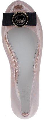 Melissa Ultragirl Ballet Flats Glass Beige Rubber