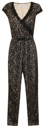 Dorothy Perkins Paper Dolls Black and cream lace jumpsuit