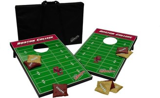 Tailgate Boston college eagles toss beanbag game