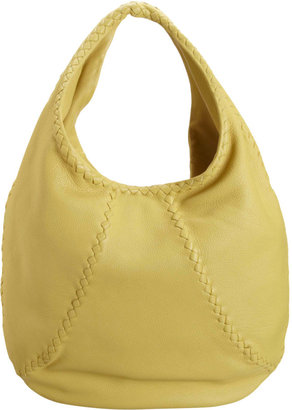 Bottega Veneta Washed Cervo Simple Hobo Bag