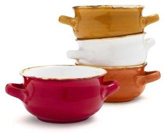 Sur La Table Italian Double-Handle Soup Bowl
