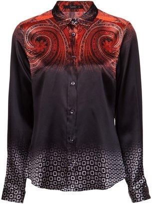 Etro double print blouse