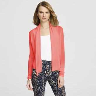Anne Klein Shawl Neck Cropped Jacket