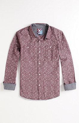 Modern Amusement Gabriel Floral Print Woven Shirt