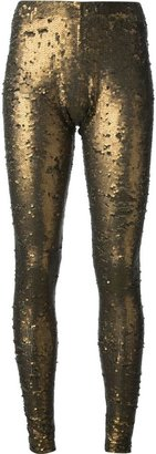 P.A.R.O.S.H. 'Isabella' sequined leggings