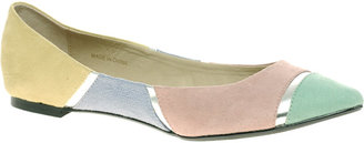 Asos LULA Ballet Flats with Color Block