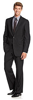 Kenneth Cole Reaction Men's Black Suit Separates