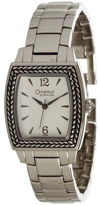 Bulova Ladies Caravelle Bracelet - 43L150 (Silver/White) - Jewelry