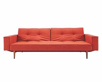 Innovation Split Back Sofa With Arms Orange