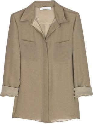 Chloé Silk-crepe blouse