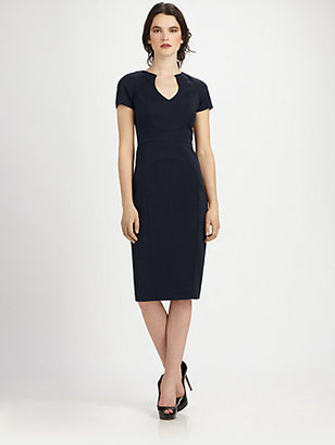 Black Halo Paneled Dress