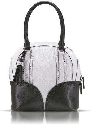 Pineider 1774 Limited Edition Mini Bowling Leather Bag